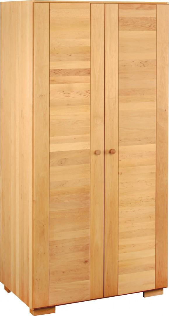 biokinder kai kleiderschrank 2 t rig erle. Black Bedroom Furniture Sets. Home Design Ideas