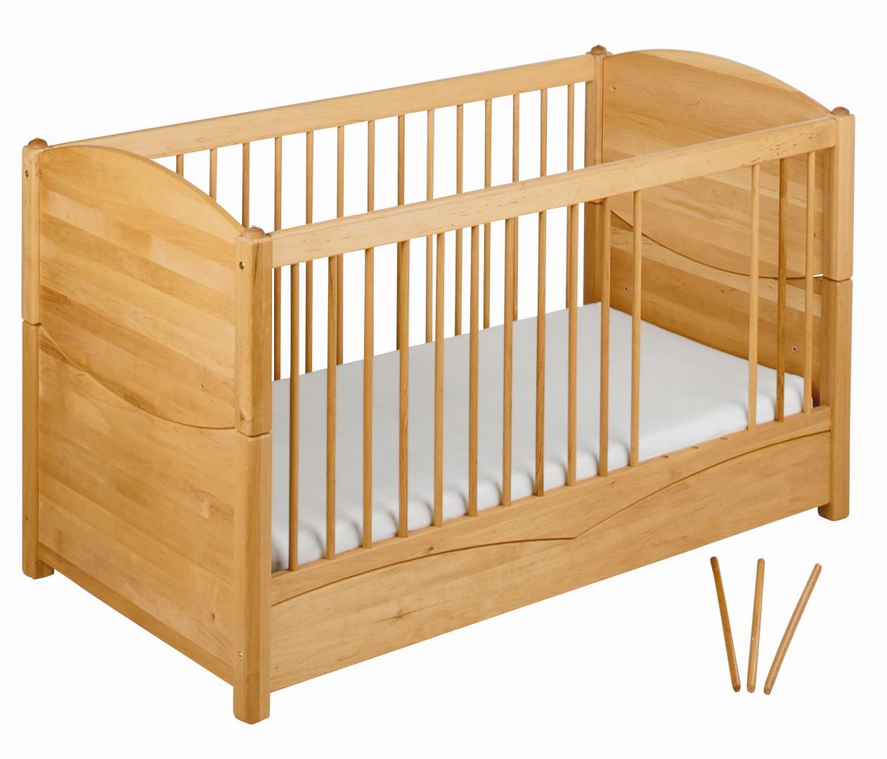 babybett mit aufh ngung f r betthimmel in wehrheim kaufen bei. Black Bedroom Furniture Sets. Home Design Ideas