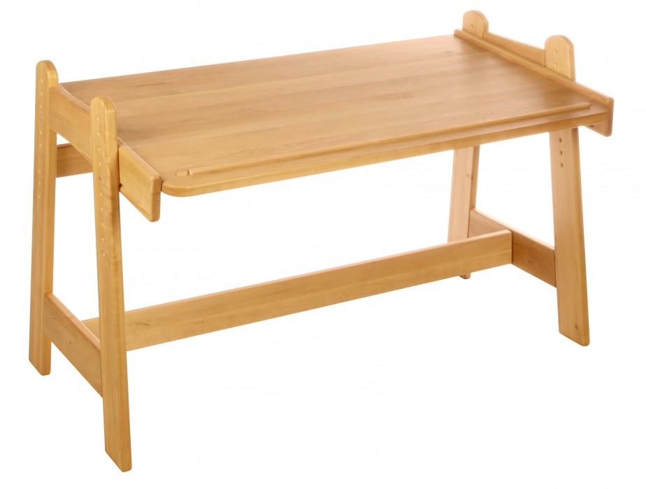 schreibtisch kinder holz bio erle massiv verstellbar ge lt uvp 389 95 neu kaufen bei. Black Bedroom Furniture Sets. Home Design Ideas