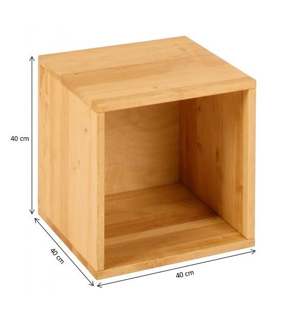 regal b cherregal schrank kinder kinderzimmer holz massiv 40x40 cm neu ebay. Black Bedroom Furniture Sets. Home Design Ideas