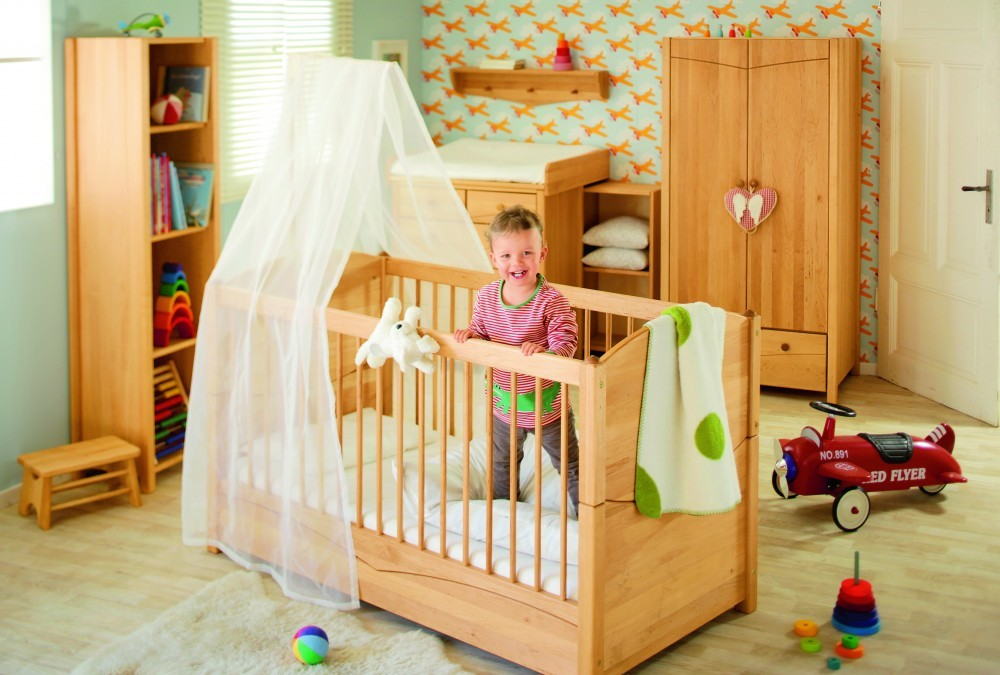 babybett gitterbett erle massivholz in wehrheim kaufen bei. Black Bedroom Furniture Sets. Home Design Ideas