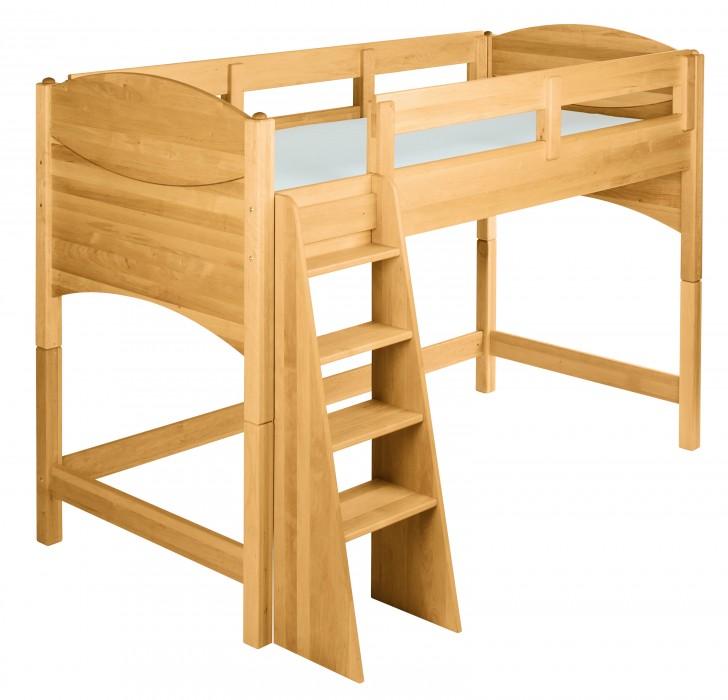 biokinder spar set noah kinder hochbett 100 cm erle. Black Bedroom Furniture Sets. Home Design Ideas