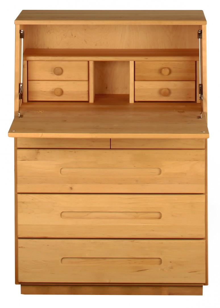 sekret r schreib kommode schreibtisch kinder sekret r massivholz erle bio neu kaufen bei. Black Bedroom Furniture Sets. Home Design Ideas