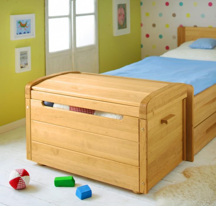 biokinder julian spielzeugtruhe erle. Black Bedroom Furniture Sets. Home Design Ideas