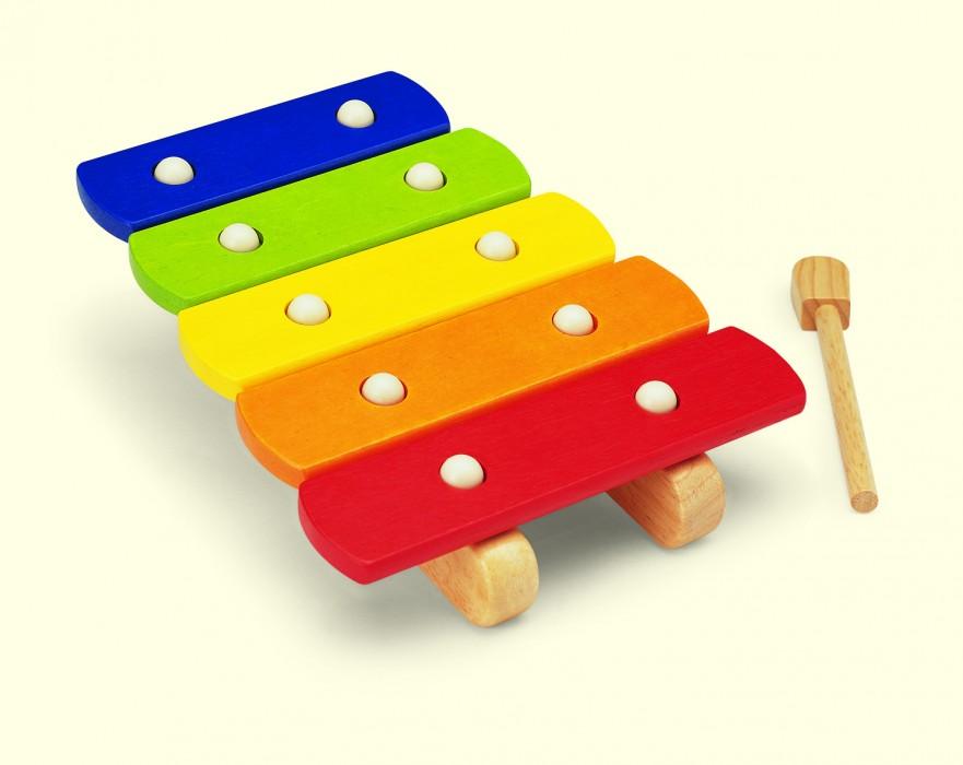 xylophon musikinstrument kleinkinder holz f rdert hand. Black Bedroom Furniture Sets. Home Design Ideas