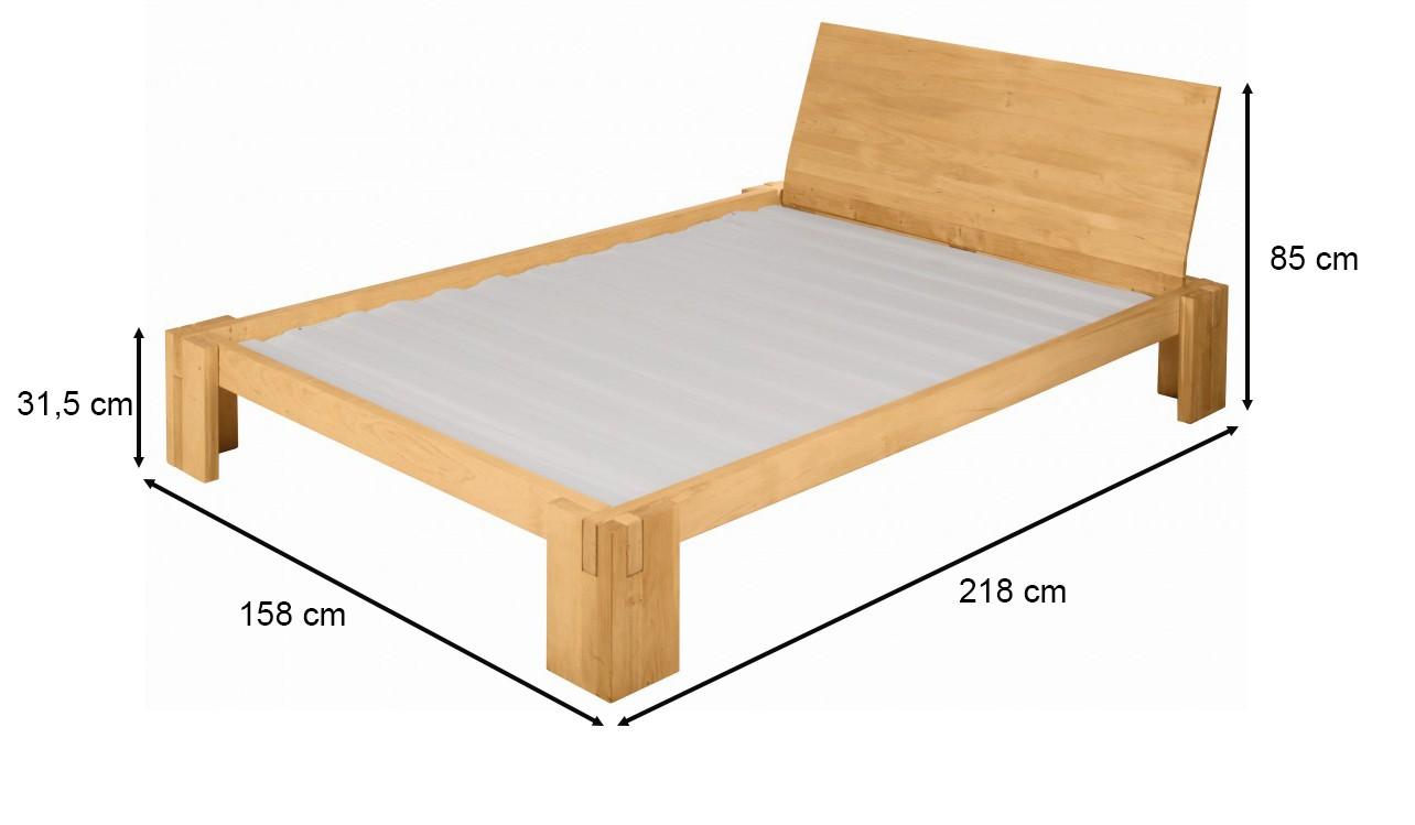 biokinder spar set dario bett mit r ckenlehne 140x200. Black Bedroom Furniture Sets. Home Design Ideas