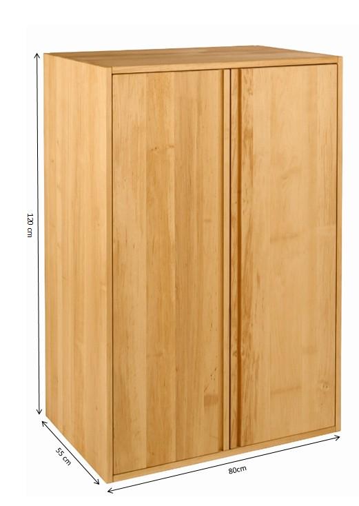 biokinder spar set laura schrank mit aufsatz schubkasten sockel. Black Bedroom Furniture Sets. Home Design Ideas
