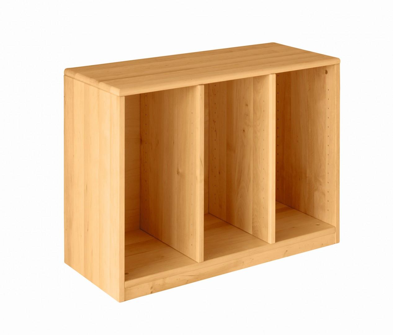 biokinder robin ordnungsregal breit erle h he 60 cm breite 84 cm. Black Bedroom Furniture Sets. Home Design Ideas