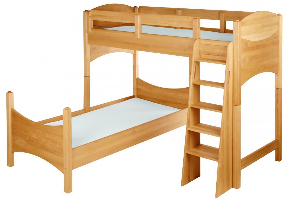 biokinder zubeh r etagenbett versetzt massivholz erle noah. Black Bedroom Furniture Sets. Home Design Ideas
