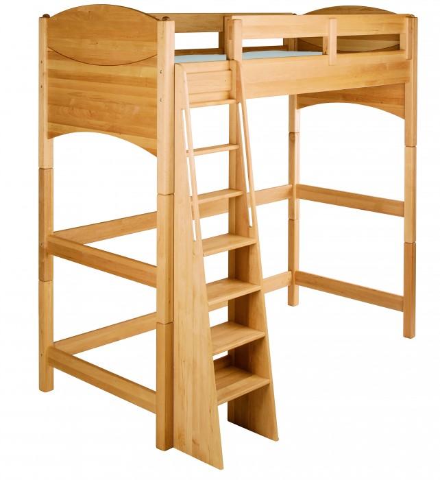 biokinder umbauset zum noah hochbett 160 cm erle. Black Bedroom Furniture Sets. Home Design Ideas
