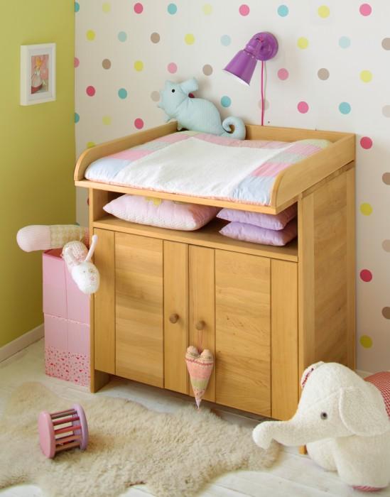 biokinder kommode wickelkommode schrank baby massivholz erle 90x90x55 cm neu ebay. Black Bedroom Furniture Sets. Home Design Ideas