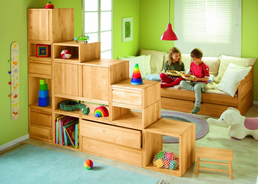biokinder regal b cherregal w rfelregal kinderzimmer holz. Black Bedroom Furniture Sets. Home Design Ideas