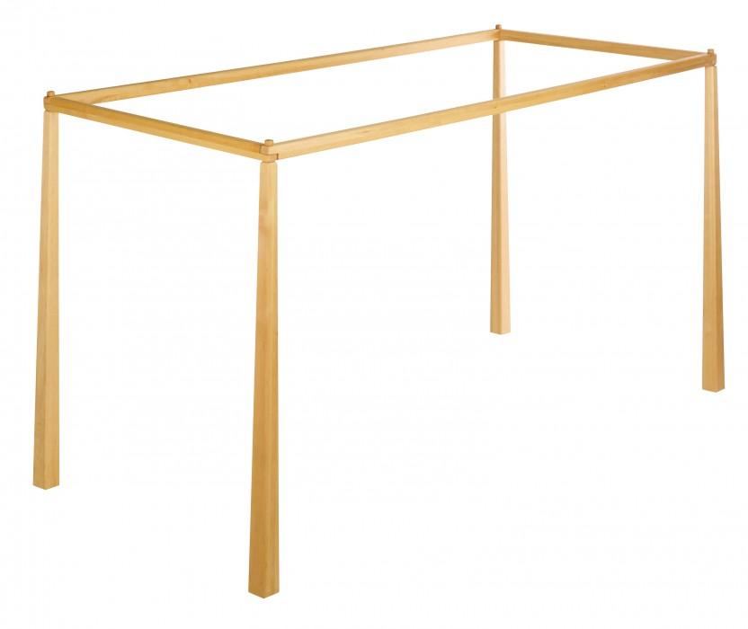 biokinder spar set noah himmelbett kinderbett 90x200 cm erle. Black Bedroom Furniture Sets. Home Design Ideas